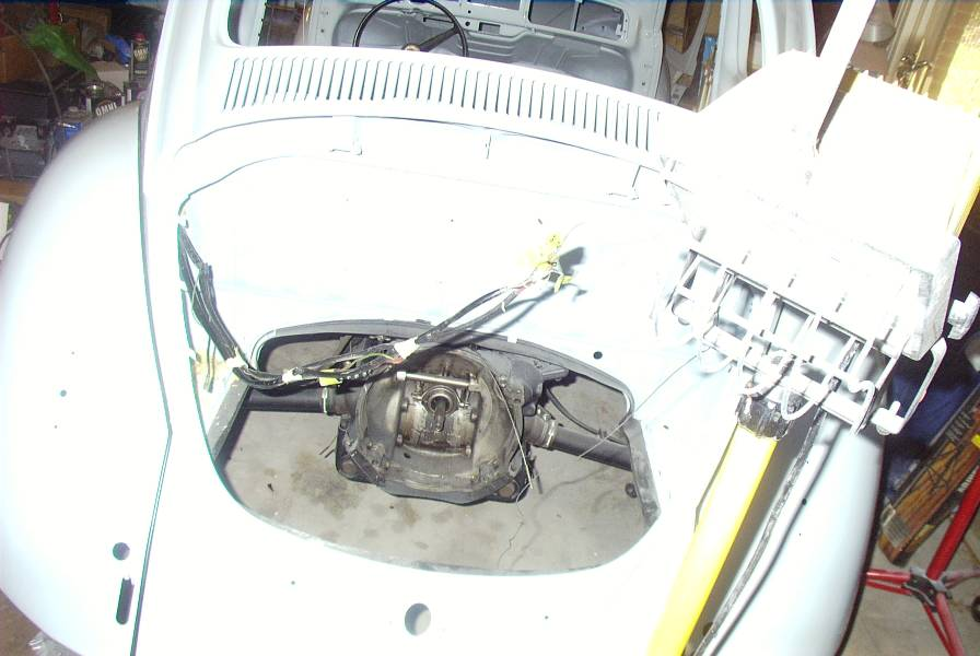 Vw Bug Custom Wiring Harness : Vw beetle engine compartment free image for